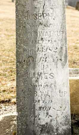 WALKUP, JAMES - Richland County, Ohio | JAMES WALKUP - Ohio Gravestone Photos