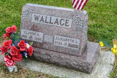 WALLACE, CLAUDE B - Richland County, Ohio | CLAUDE B WALLACE - Ohio Gravestone Photos