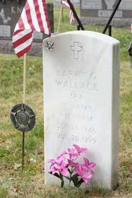WALLACE, LARRY G - Richland County, Ohio | LARRY G WALLACE - Ohio Gravestone Photos