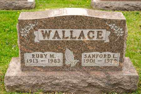 WALLACE, RUBY M - Richland County, Ohio | RUBY M WALLACE - Ohio Gravestone Photos