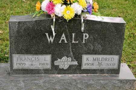 WALP, K MILDRED - Richland County, Ohio   K MILDRED WALP - Ohio Gravestone Photos