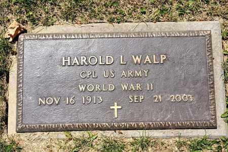WALP, HAROLD L - Richland County, Ohio | HAROLD L WALP - Ohio Gravestone Photos