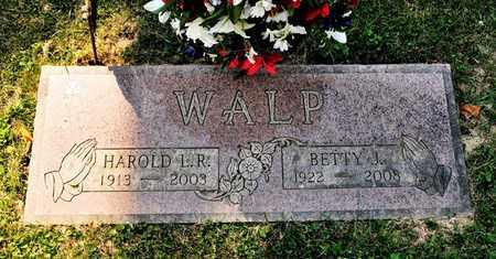 WALP, BETTY J - Richland County, Ohio | BETTY J WALP - Ohio Gravestone Photos