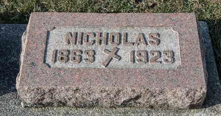 WALTBILLIG, NICHOLAS - Richland County, Ohio   NICHOLAS WALTBILLIG - Ohio Gravestone Photos