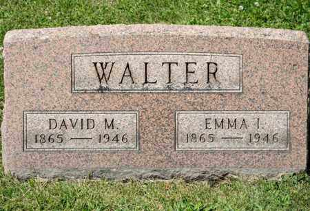 WALTER, DAVID M - Richland County, Ohio | DAVID M WALTER - Ohio Gravestone Photos