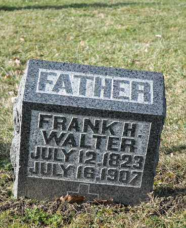 WALTER, FRANK H - Richland County, Ohio | FRANK H WALTER - Ohio Gravestone Photos