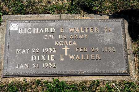 WALTER SR, RICHARD E - Richland County, Ohio | RICHARD E WALTER SR - Ohio Gravestone Photos