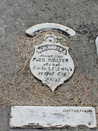 WALTERS, ELIZABETH A. - Richland County, Ohio   ELIZABETH A. WALTERS - Ohio Gravestone Photos