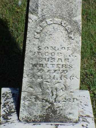 WALTERS, FREEMONT - Richland County, Ohio   FREEMONT WALTERS - Ohio Gravestone Photos