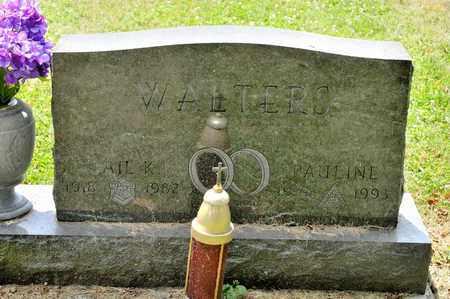 WALTERS, PAULINE - Richland County, Ohio   PAULINE WALTERS - Ohio Gravestone Photos
