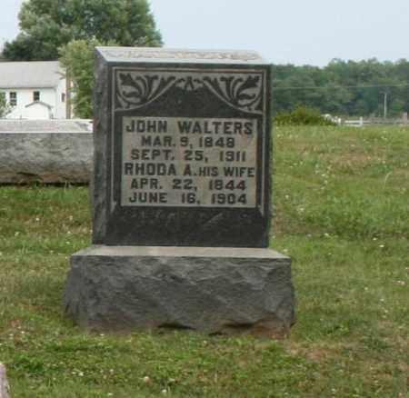 WALTERS, RHODA A. - Richland County, Ohio | RHODA A. WALTERS - Ohio Gravestone Photos