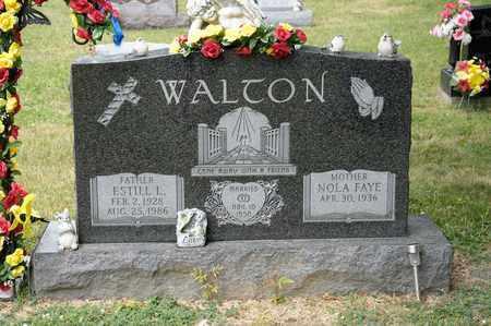 WALTON, ESTILL L - Richland County, Ohio | ESTILL L WALTON - Ohio Gravestone Photos