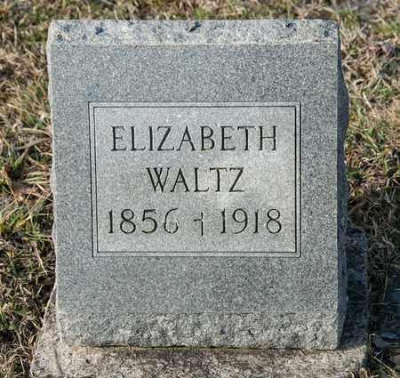 WALTZ, ELIZABETH - Richland County, Ohio   ELIZABETH WALTZ - Ohio Gravestone Photos