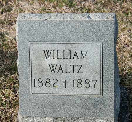 WALTZ, WILLIAM - Richland County, Ohio | WILLIAM WALTZ - Ohio Gravestone Photos