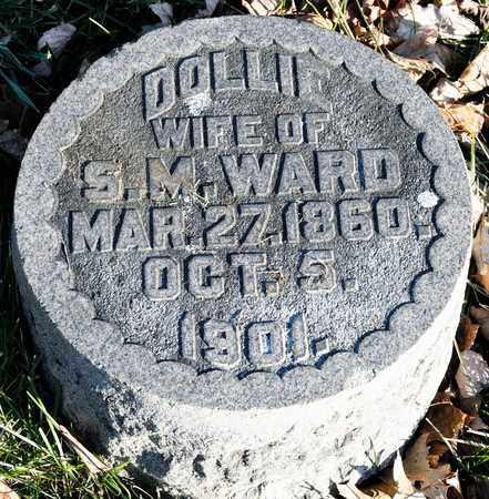 WARD, DOLLIE - Richland County, Ohio | DOLLIE WARD - Ohio Gravestone Photos