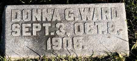 WARD, DONNA G - Richland County, Ohio | DONNA G WARD - Ohio Gravestone Photos