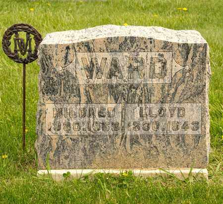 WARD, MILDRED - Richland County, Ohio | MILDRED WARD - Ohio Gravestone Photos
