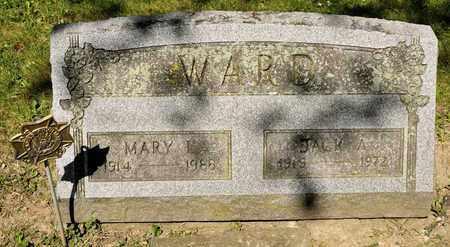WARD, MARY L - Richland County, Ohio | MARY L WARD - Ohio Gravestone Photos