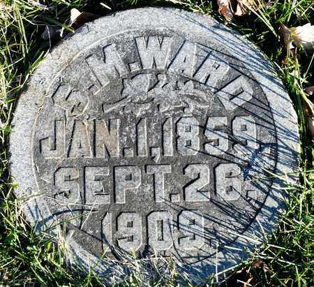 WARD, S M - Richland County, Ohio | S M WARD - Ohio Gravestone Photos