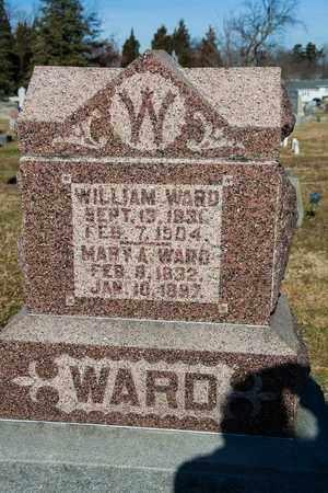 WARD, MARY A - Richland County, Ohio | MARY A WARD - Ohio Gravestone Photos