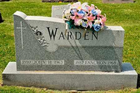 WARDEN, FANCHON - Richland County, Ohio | FANCHON WARDEN - Ohio Gravestone Photos