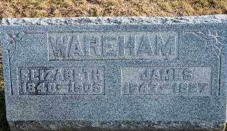 WAREHAM, JAMES - Richland County, Ohio | JAMES WAREHAM - Ohio Gravestone Photos