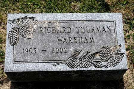 WAREHAM, RICHARD THURMAN - Richland County, Ohio   RICHARD THURMAN WAREHAM - Ohio Gravestone Photos