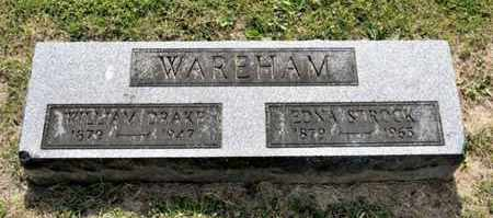 WAREHAM, WILLIAM DRAKE - Richland County, Ohio | WILLIAM DRAKE WAREHAM - Ohio Gravestone Photos