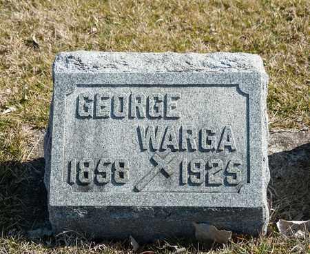 WARGA, GEORGE - Richland County, Ohio | GEORGE WARGA - Ohio Gravestone Photos