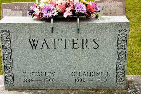 WATTERS, C STANLEY - Richland County, Ohio | C STANLEY WATTERS - Ohio Gravestone Photos