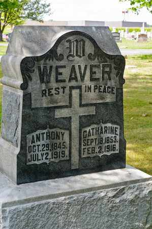 WEAVER, ANTHONY - Richland County, Ohio | ANTHONY WEAVER - Ohio Gravestone Photos