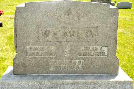 WEAVER, JULIA A - Richland County, Ohio | JULIA A WEAVER - Ohio Gravestone Photos