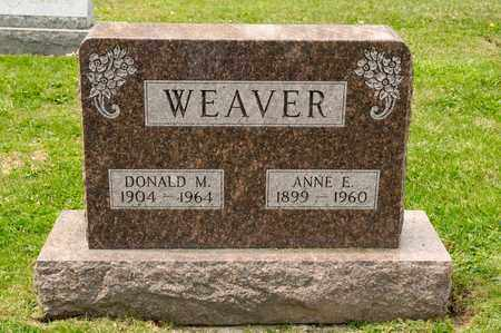 WEAVER, DONALD M - Richland County, Ohio | DONALD M WEAVER - Ohio Gravestone Photos