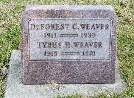 WEAVER, TYRUS H - Richland County, Ohio   TYRUS H WEAVER - Ohio Gravestone Photos