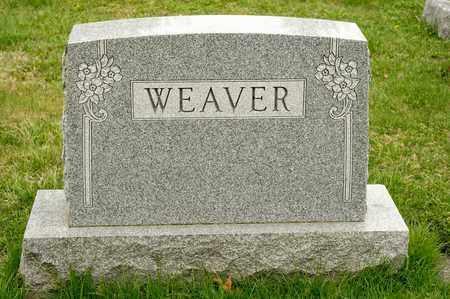 WEAVER, NELLE R - Richland County, Ohio   NELLE R WEAVER - Ohio Gravestone Photos