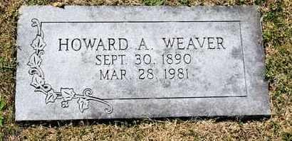 WEAVER, HOWARD A - Richland County, Ohio   HOWARD A WEAVER - Ohio Gravestone Photos