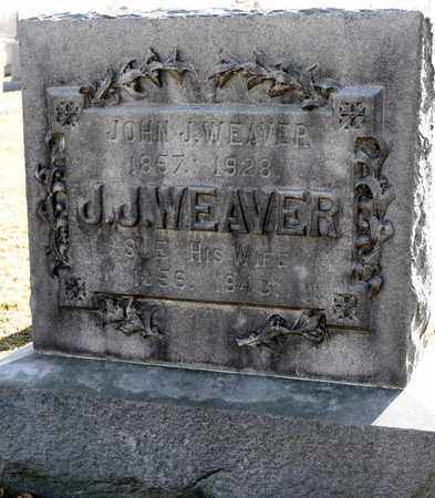 WEAVER, JOHN J - Richland County, Ohio | JOHN J WEAVER - Ohio Gravestone Photos
