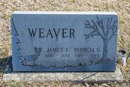 WEAVER, JAMES F - Richland County, Ohio | JAMES F WEAVER - Ohio Gravestone Photos