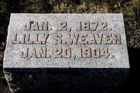 WEAVER, LILLY S - Richland County, Ohio   LILLY S WEAVER - Ohio Gravestone Photos
