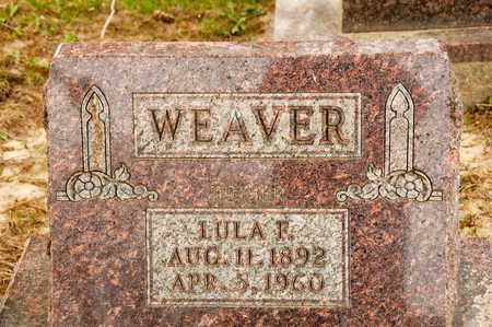 WEAVER, LULA F - Richland County, Ohio | LULA F WEAVER - Ohio Gravestone Photos