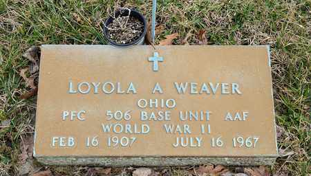 WEAVER, LOYOLA A - Richland County, Ohio | LOYOLA A WEAVER - Ohio Gravestone Photos
