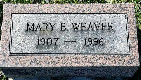 WEAVER, MARY B - Richland County, Ohio | MARY B WEAVER - Ohio Gravestone Photos