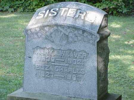 CHARLES, ELIZA - Richland County, Ohio | ELIZA CHARLES - Ohio Gravestone Photos