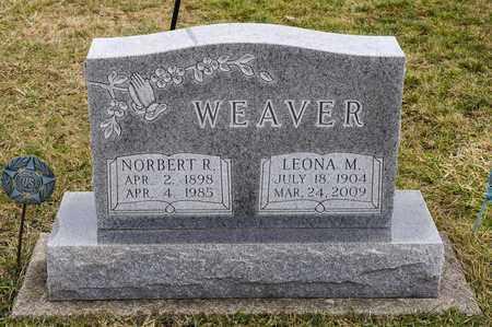 WEAVER, NORBERT R - Richland County, Ohio   NORBERT R WEAVER - Ohio Gravestone Photos