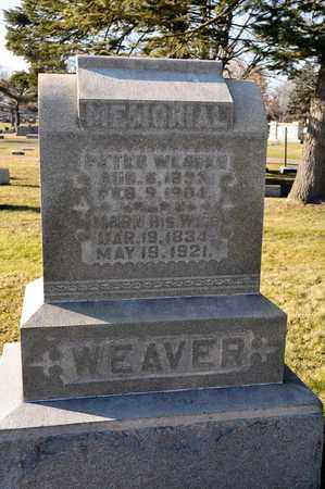 WEAVER, MARY - Richland County, Ohio | MARY WEAVER - Ohio Gravestone Photos
