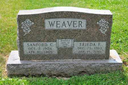 WEAVER, FRIEDA F - Richland County, Ohio | FRIEDA F WEAVER - Ohio Gravestone Photos