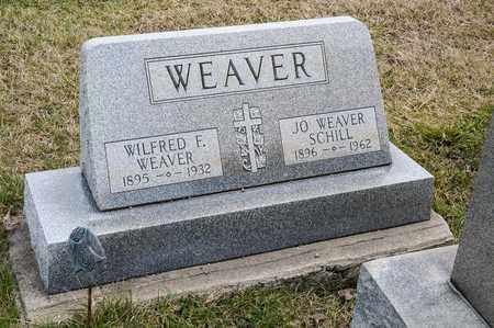 WEAVER, WILFRED F - Richland County, Ohio | WILFRED F WEAVER - Ohio Gravestone Photos
