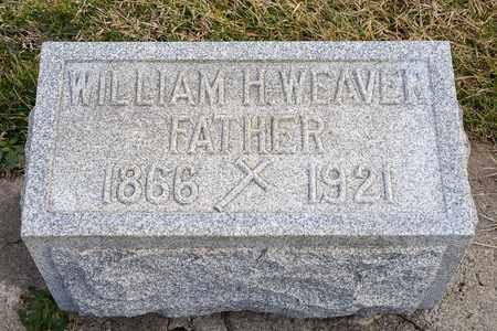 WEAVER, WILLIAM H - Richland County, Ohio   WILLIAM H WEAVER - Ohio Gravestone Photos