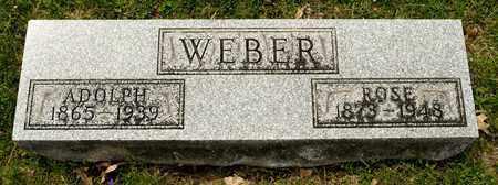 WEBER, ROSE - Richland County, Ohio | ROSE WEBER - Ohio Gravestone Photos