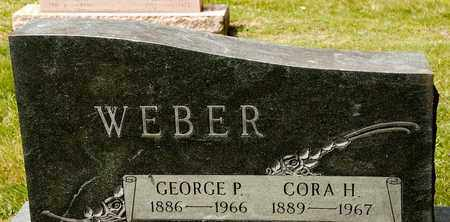 WEBER, CORA H - Richland County, Ohio | CORA H WEBER - Ohio Gravestone Photos